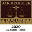 Bar Register Preeminent Lawyers 2015
